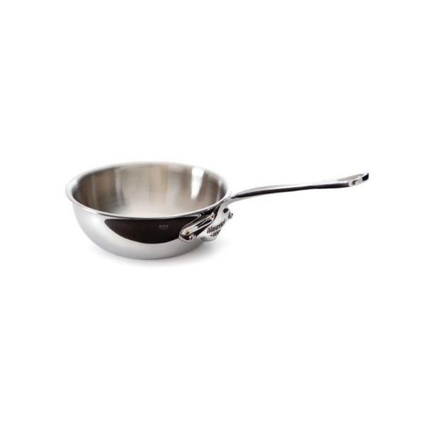 Casserole évasée bombée - diamètre:  24 cm - m'cook - mauviel (photo)