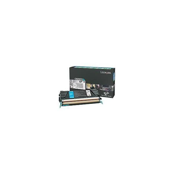 Toner cyan - 3000 pages - lrp - lexmark