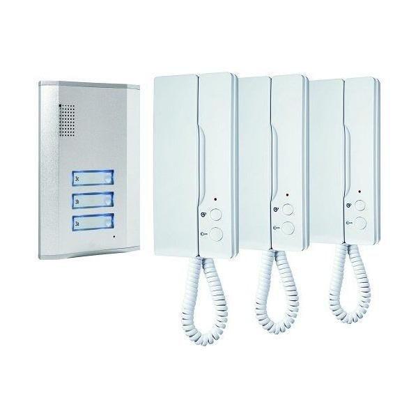 Interphone pour 3 appartements - smartwares (photo)