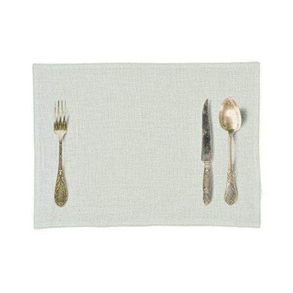 Set de table linen vert d'eau 30x40x0,2 cm - daycollection (photo)