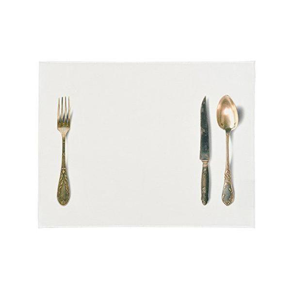 Set de table coton blanc 30x40x0,2 cm - daycollection (photo)