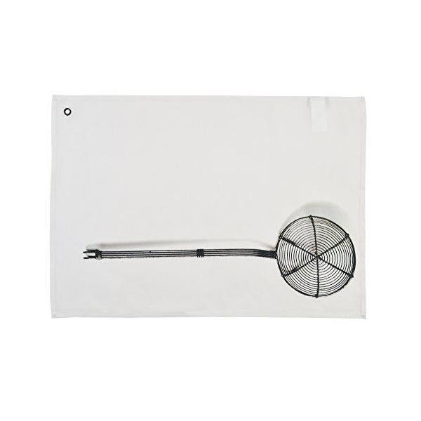 Couverts torchon à vaisselle coton/linen blanc 65x45x0,2 cm - daycollection (photo)