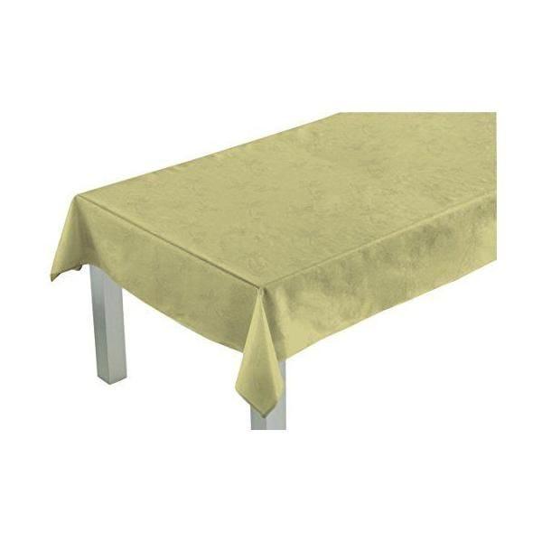 Nappe carrée ficelle 180x180x0,5 cm - comptoir du linge (photo)
