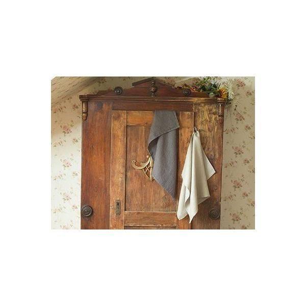 Servi&tes essuie-mains en lin naturel 42x70 cm - linenme (photo)