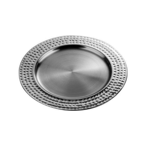 Assiette de présentation en acier inoxydable - premier houseware (photo)