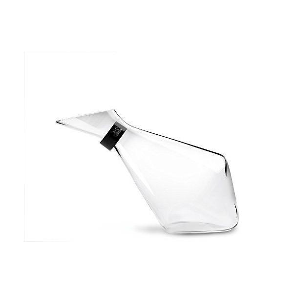 Carafe à décanter avec collier anti-goutte verre soufflé blanc 75 cl - peugeot