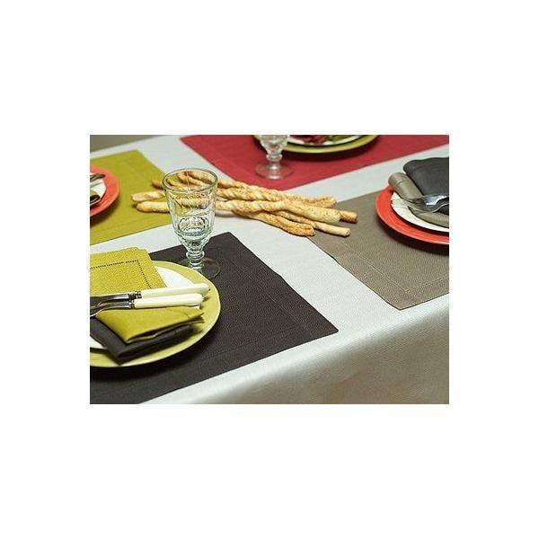 Nappe 40 x229 cm platine - collection emilia - linenme (photo)
