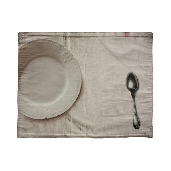 Set de table coton gris/multicolore 30x40x0,2 cm - daycollection