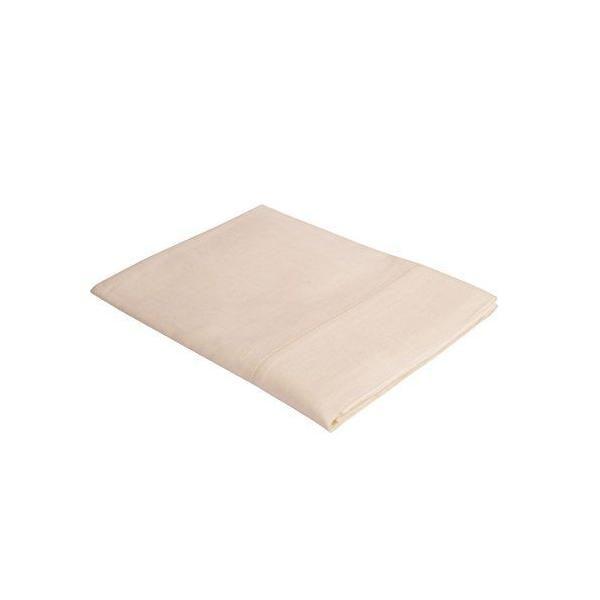 Nappe 120x120 cm avec fin ourlet blanche - vaitkute (photo)