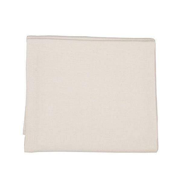 Nappe en lin 135x135 cm blanc cassé - lara - linenme (photo)