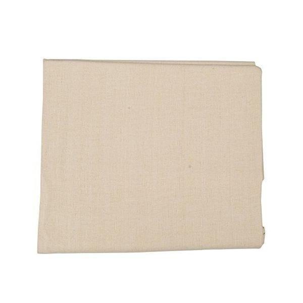 Nappe 132x250 cm en lin crème - linenme (photo)