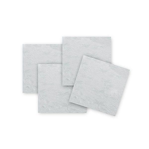 Lot de 2 serviettes de table blanche 50x50x0,5 cm - comptoir du linge (photo)