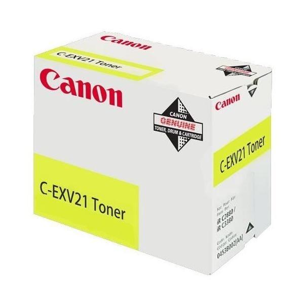 Toner jaune - c-exv21 - canon