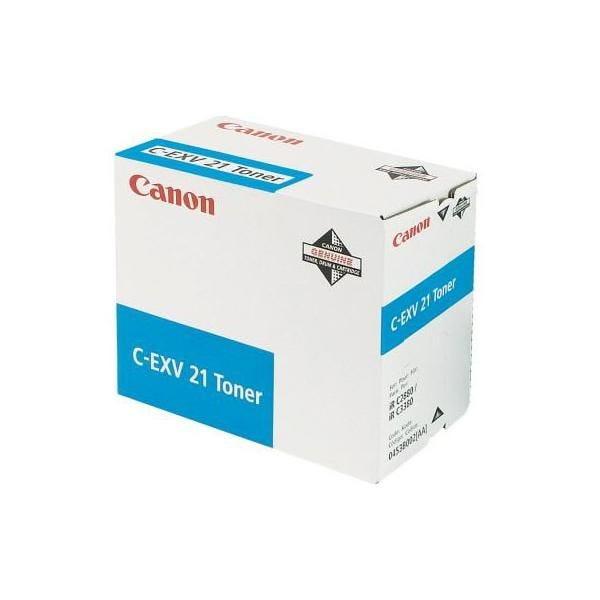 Toner cyan - c-exv 21 - canon