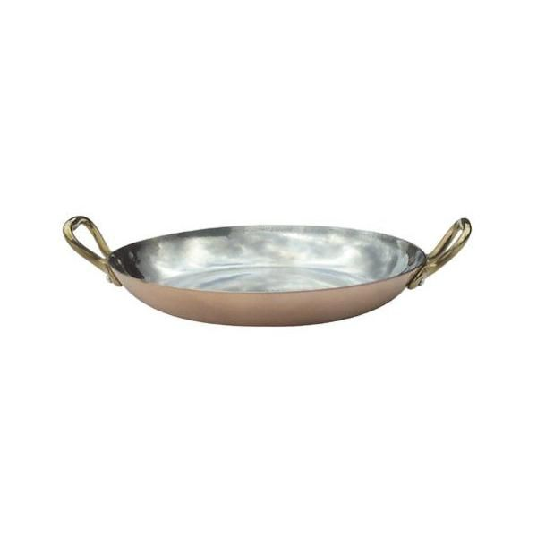 Plat rond - diamètre: intérieur : 16 cm - m'héritage - mauviel