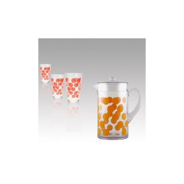 Pichet 2 l orange - zak designs (photo)