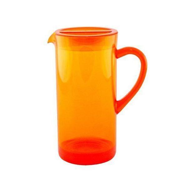 Pichet teinté 1,7 l orange - zak designs (photo)