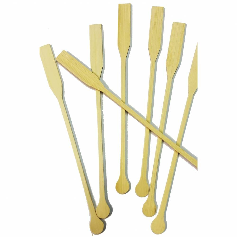 Agitateurs bambou 20 cm - par 10 lots de 100