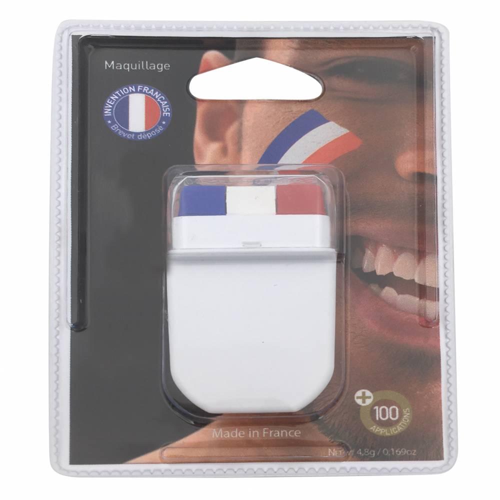 Stick maquillage gm bleu blanc rouge sans parabene - par 20 lots