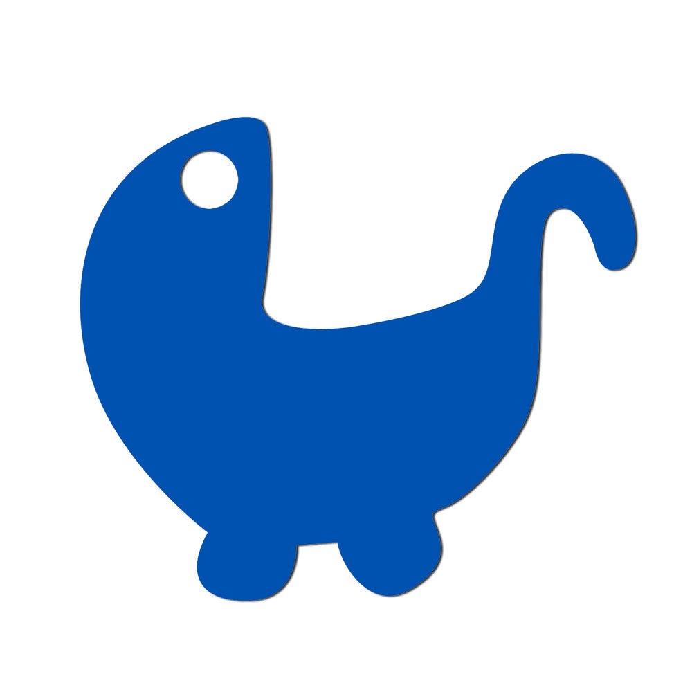 Etiquettes poussette bleu 5 x 4.3 cm - par 24 lots de 50