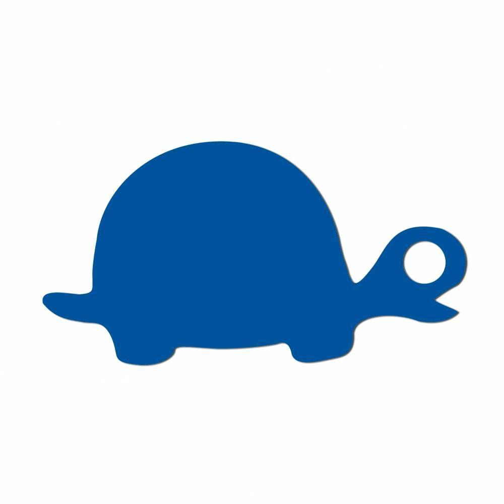 Etiquettes tortue bleu 5 x 2.7 cm - par 24 lots de 50