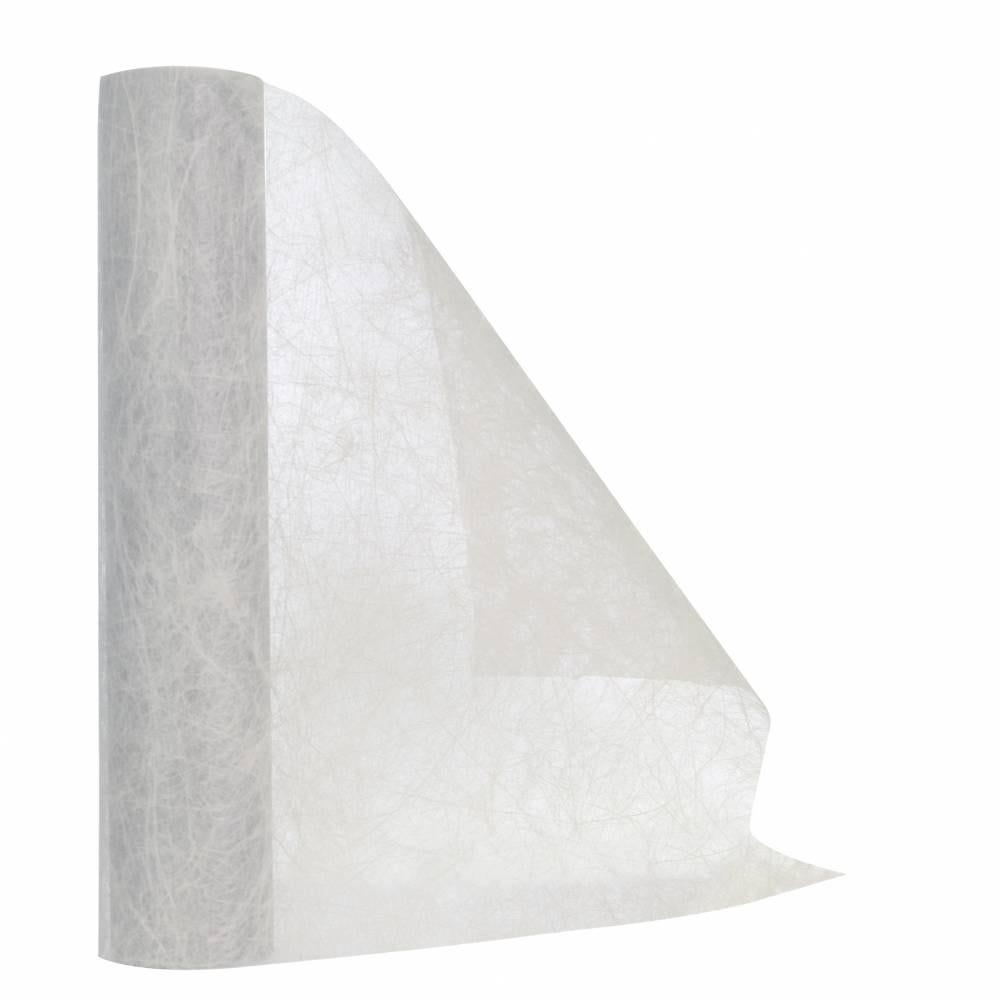 Chemin de table blanc 30 cm x 10 m non-tissé - par 5 lots