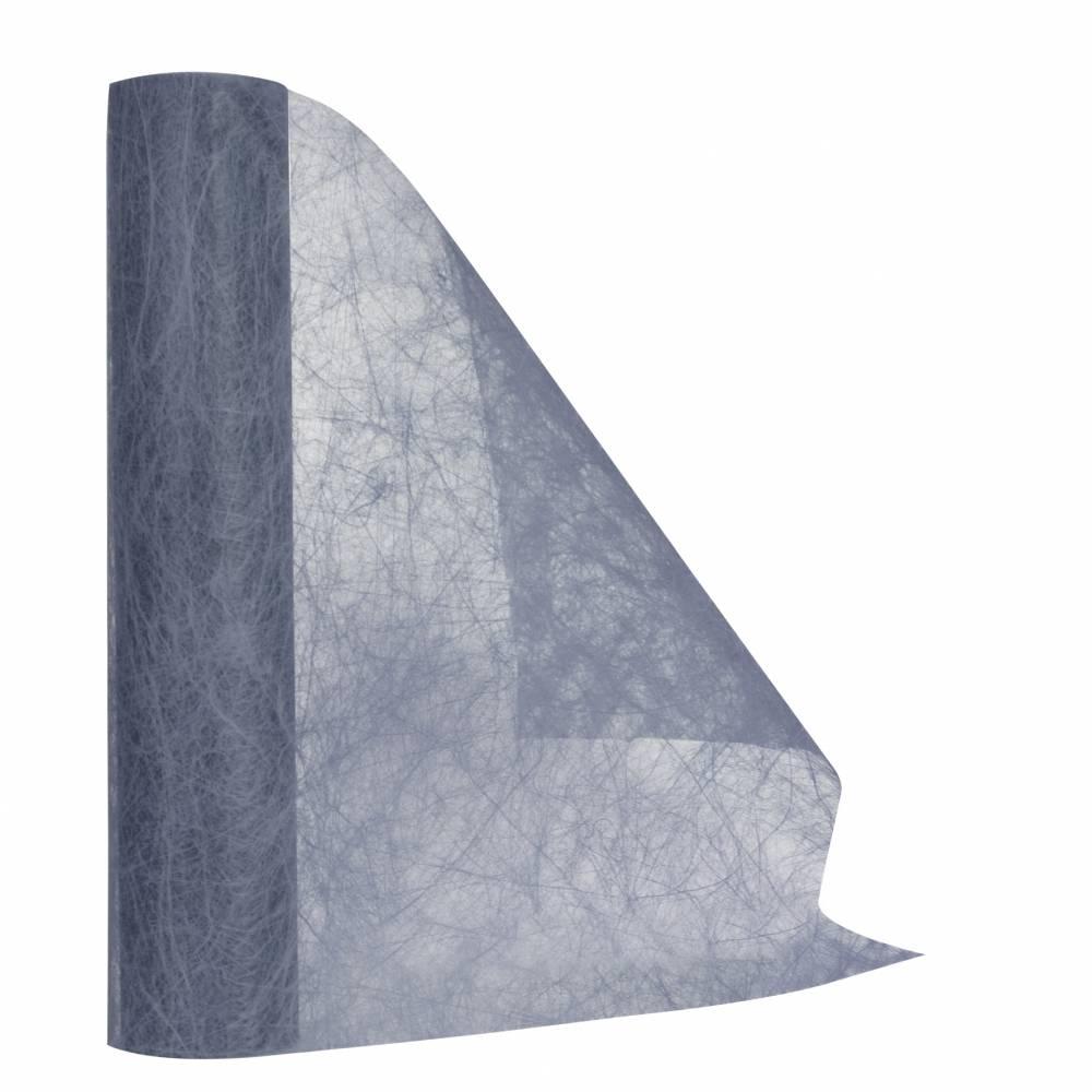 Chemin de table gris 30 cm x 10 m non-tissé - par 5 lots