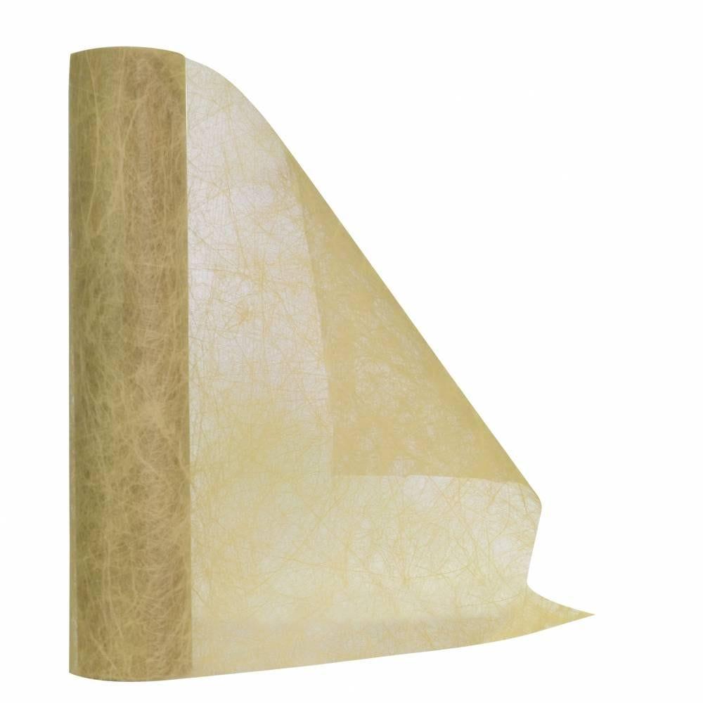 Chemin de table ivoire 30 cm x 10 m non-tissé - par 5 lots