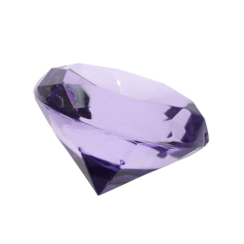 Très gros diamants lilas ø 3,5 cm - par 6 lots de 4