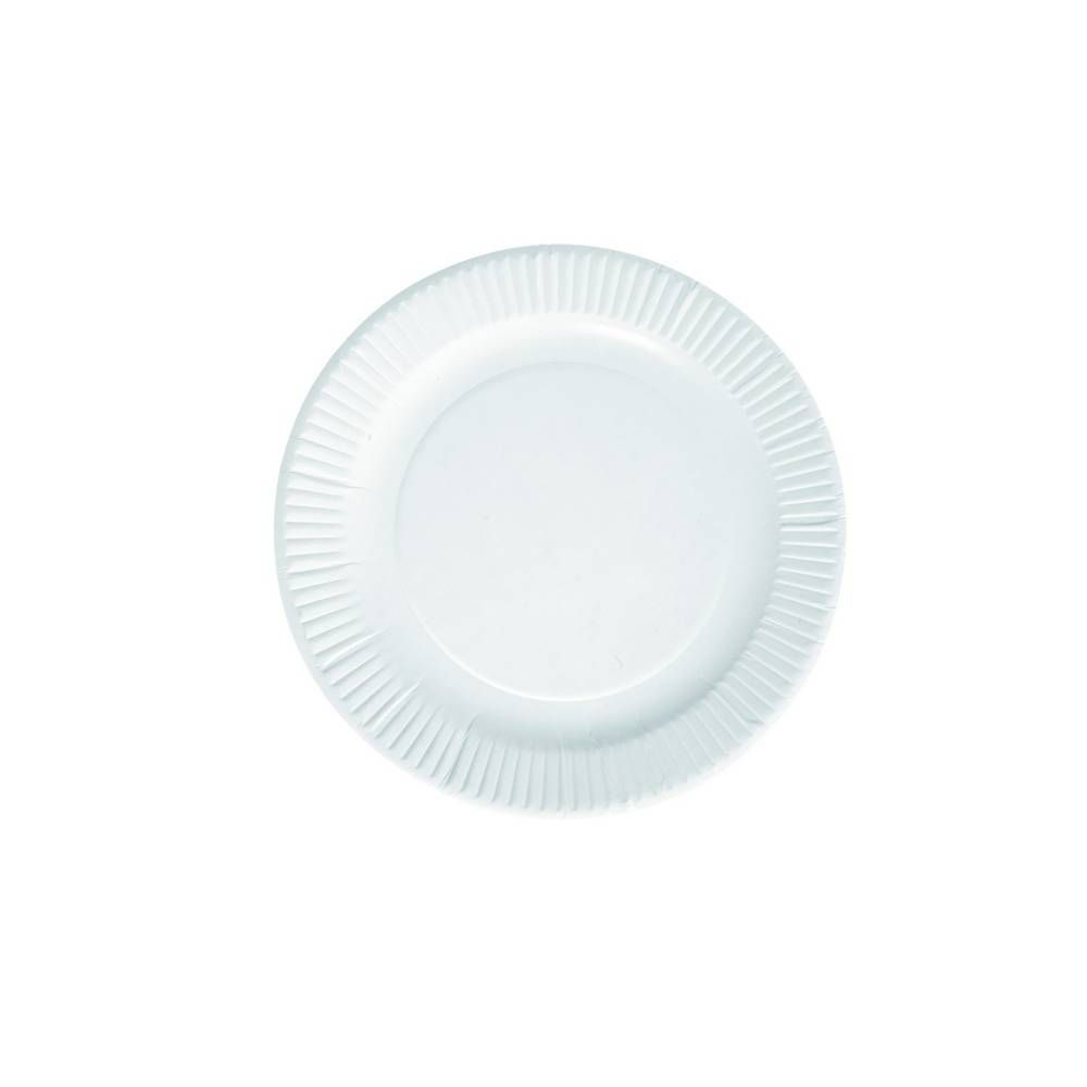 Assiettes ø15 cm carton blanc - par 1000