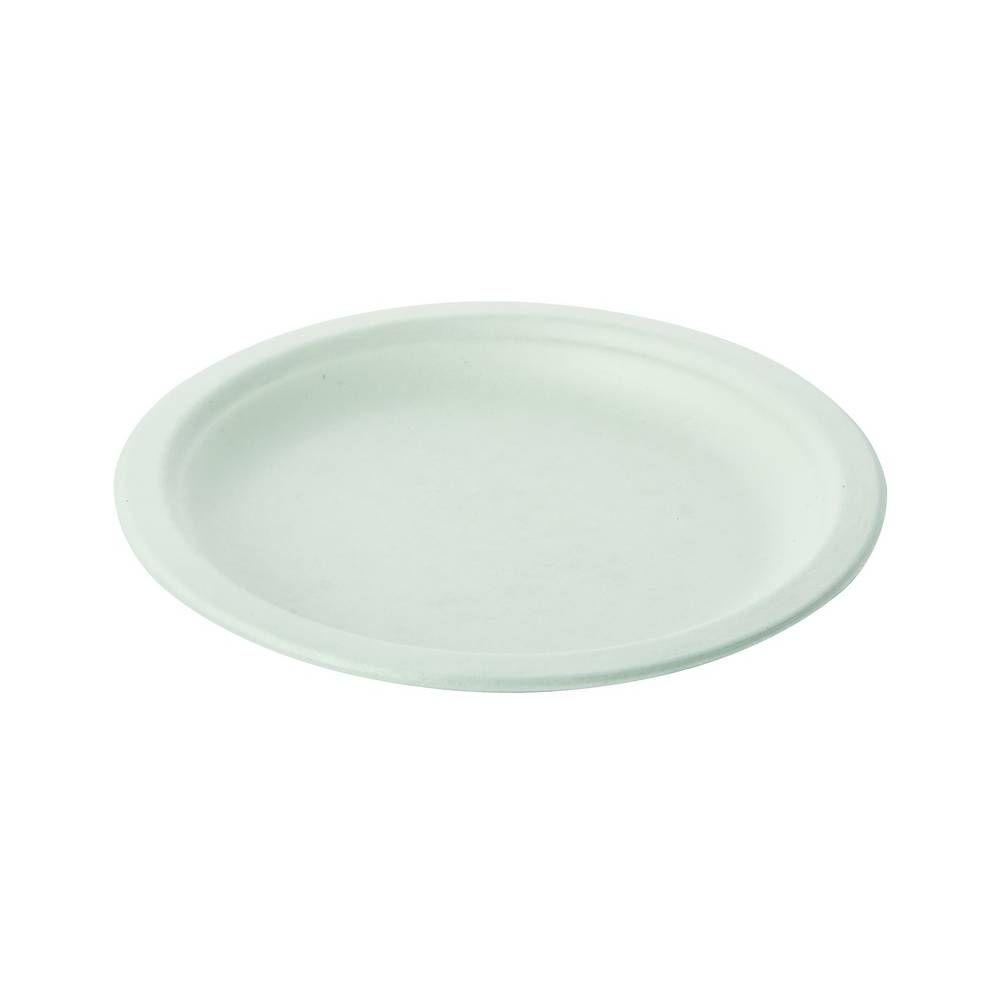 Assiettes pulpe ovales 23x17 cm - par 600