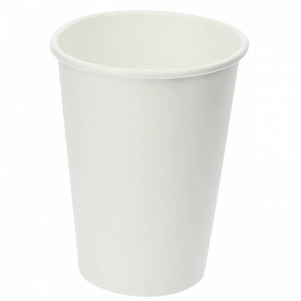 Gobelets 25/30cl carton blanc 12oz - par 5 lots de 25