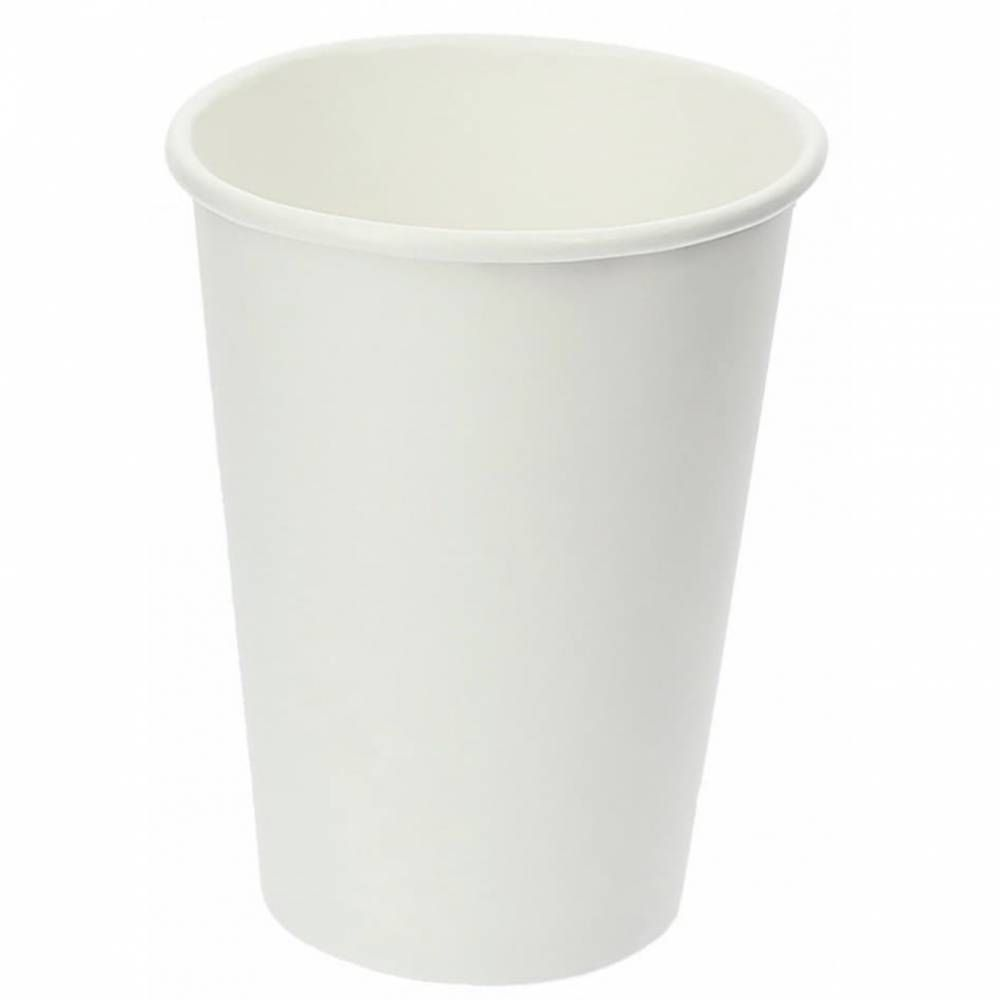 Gobelets carton 40cl blanc 16oz - par 5 lots de 50