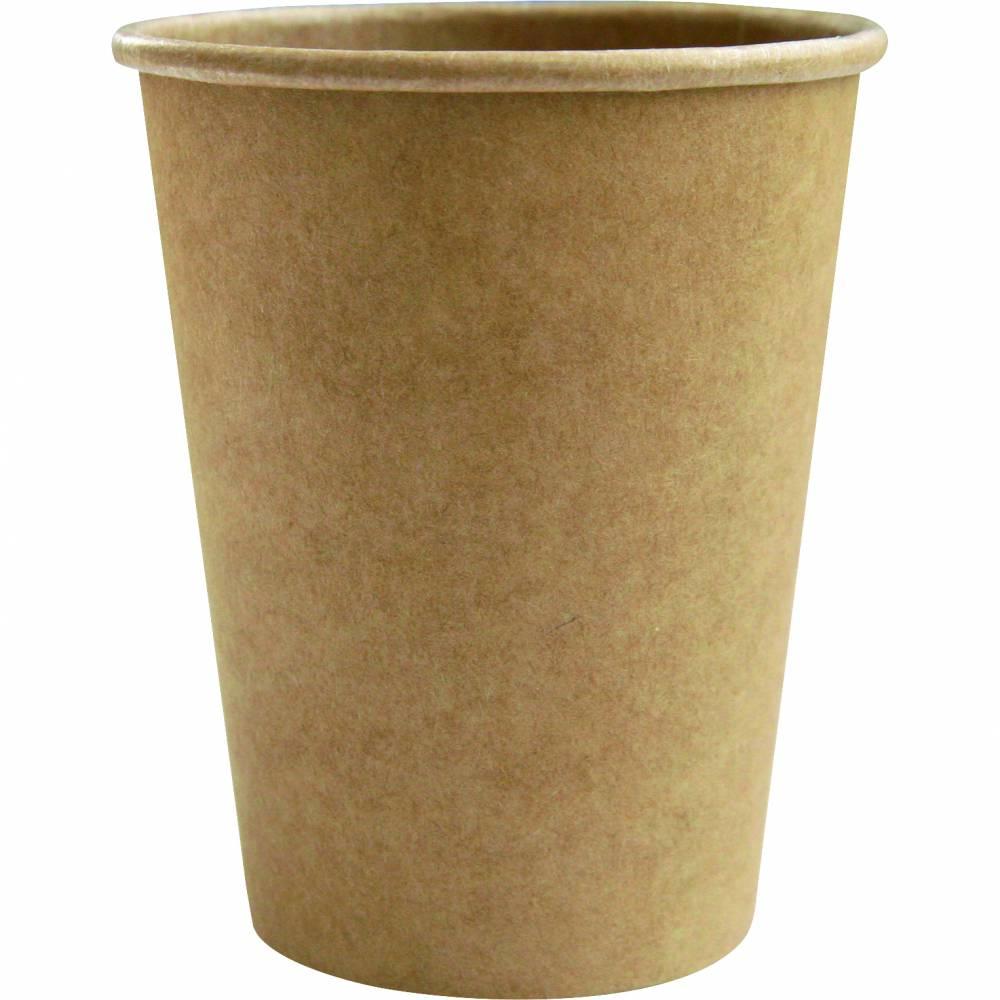 Gobelets carton kraft brun 30/35cl 12oz - par 5 lots de 50