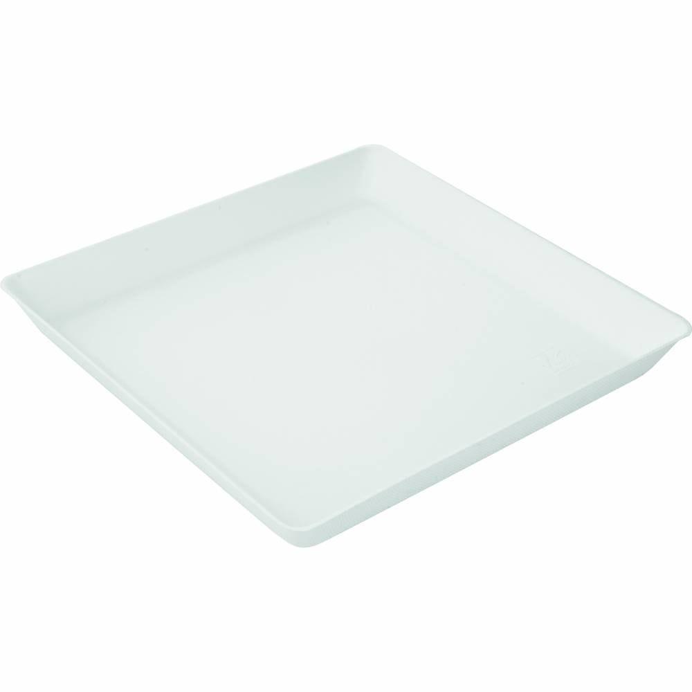 Assiettes pulpe carrées 160x160mm - par 200