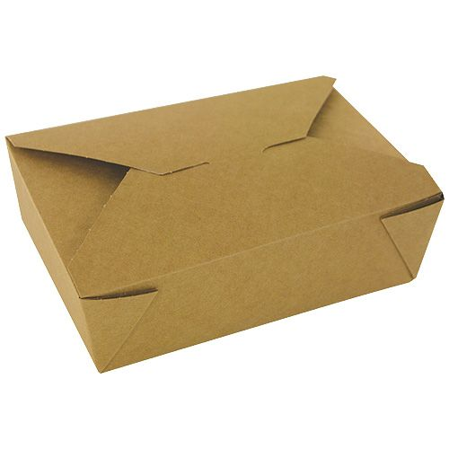 Barquettes bio carton brun 75,5 cl 127 x 106 x 65 mm - par 450