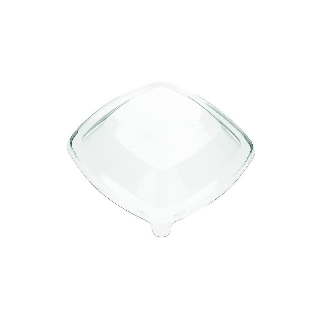 Couvercles transparents pet pour bol pulpe carré - par 300