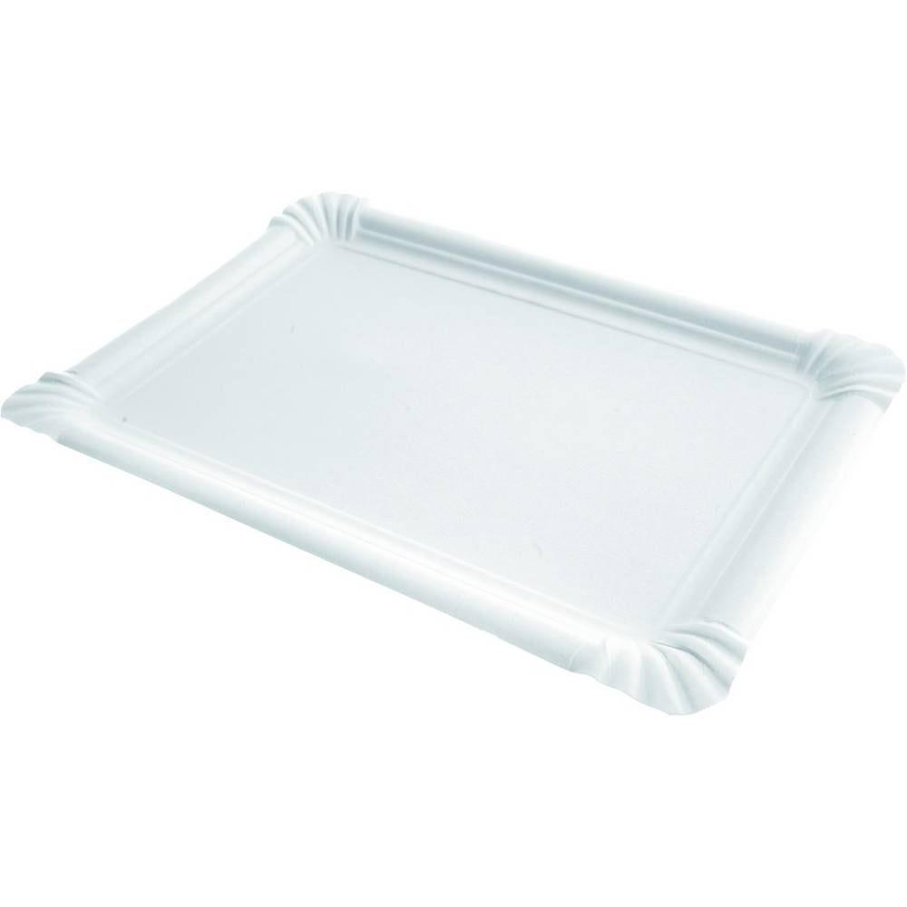 Assiettes rectangle carton 21x30 cm - par 1000