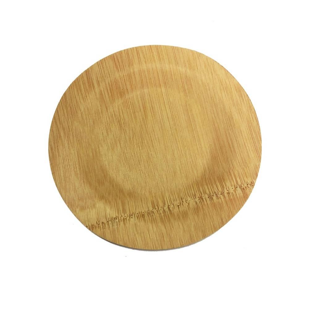 Assiettes rondes en bambou ø 28 cm - par 400