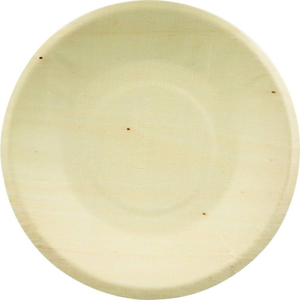 Assiettes bois 215 mm - par 100