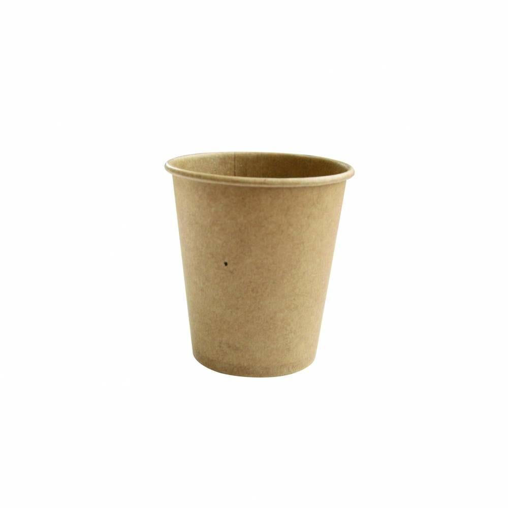 Gobelets café kraft 18 cl - par 5 lots de 75