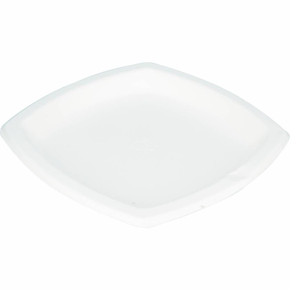 Assiettes pulpe carrées 25x25 cm - par 5 lots de 25