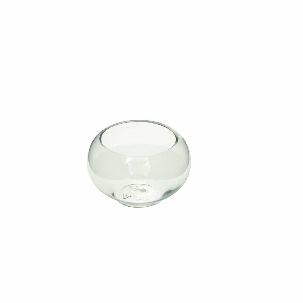 Verrines sphèriques 8 cl en ps transparent - par 5 lots de 10