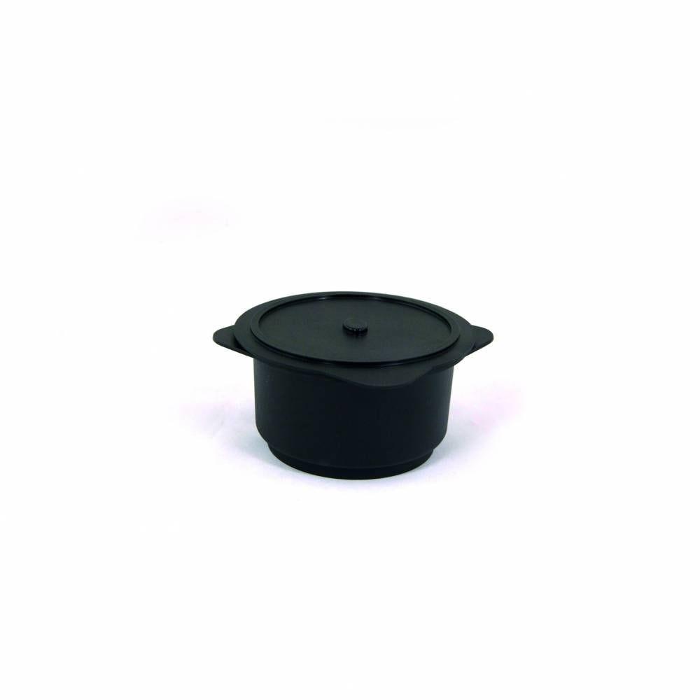 Cocottes 30 cl en polypropylene noir 100x55 mm - par 5 lots de 10