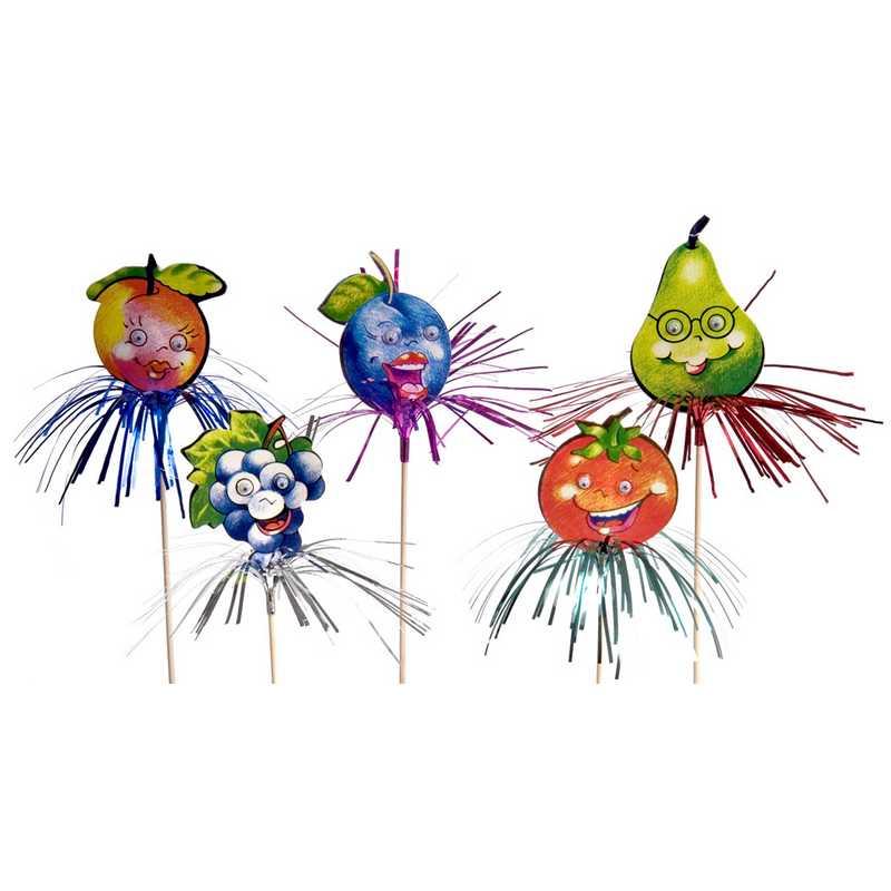 Frutissimos & cocotier alu 19 cm - par 10 lots de 72