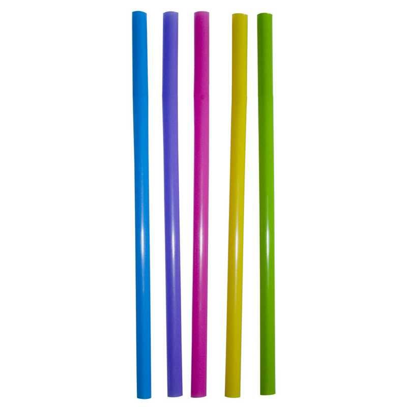 500 pailles multicolores pour granités 21 cm ø 8 mm (photo)