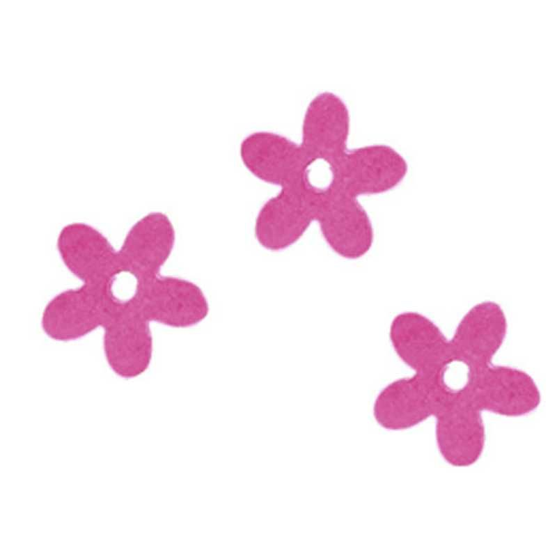 Fleurs coloris rose en sachet de 500 g