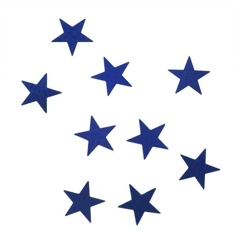 Etoiles bleu 1,5 cm en sachet 500 g