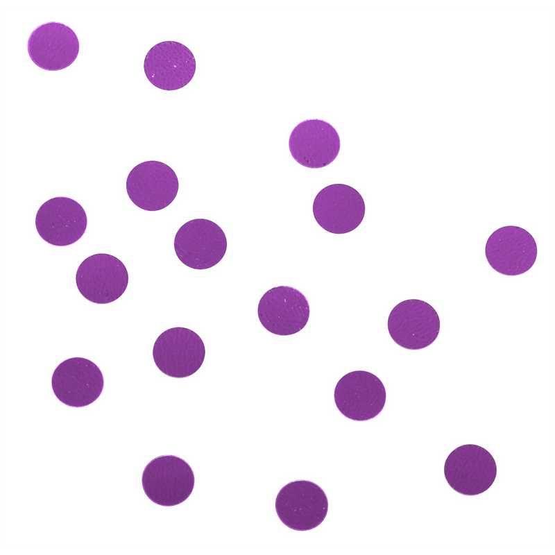 Confettis ronds ø 5 mm lilas en sachet 500 g