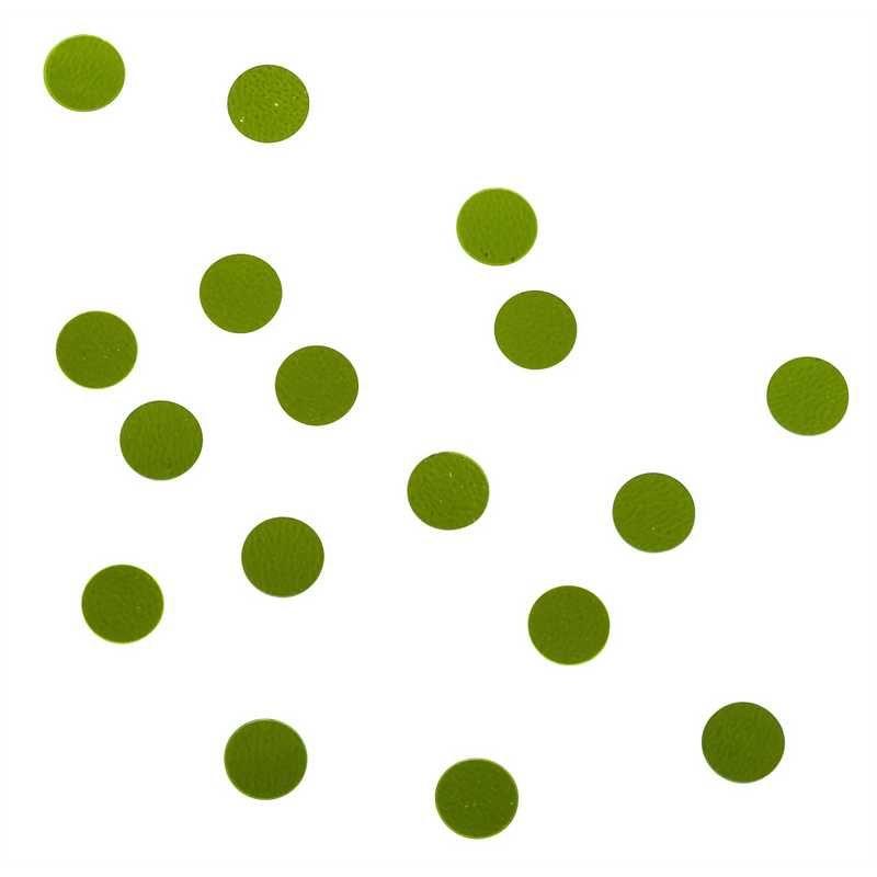 Confettis ronds ø 5 mm anis en sachet 500 g